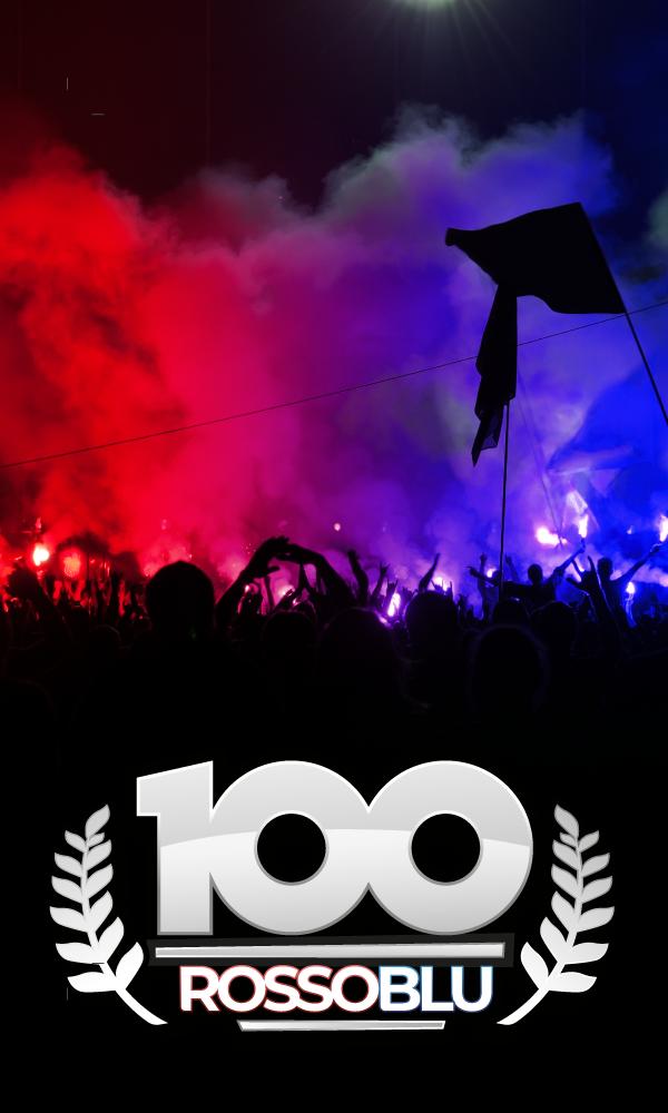 #100Rossoblu